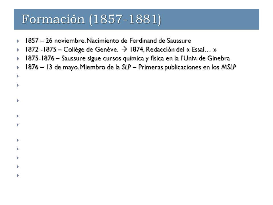 Enseñanza - Ginebra (1891-1912)  1891-1892  Sanscrit  Histoire des langues indo-européennes Enseñanza - Ginebra (1891-1912) Enseñanza en Ginebra (1891-1912)