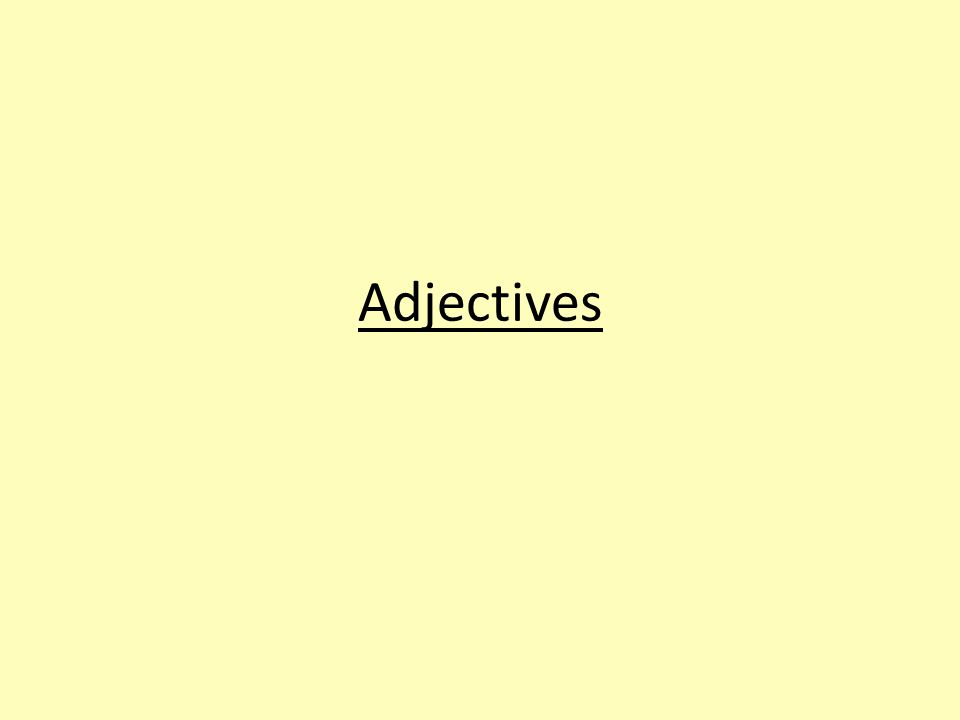 Adjectives preceded by de When nouns are quantified by numbers, the following adjectives may directly follow the noun or be preceded by de.