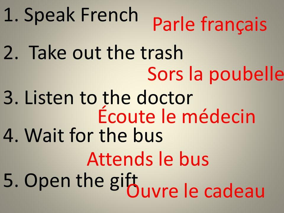 There are 3 main irregulars: Aller Avoir Va.être Aie.