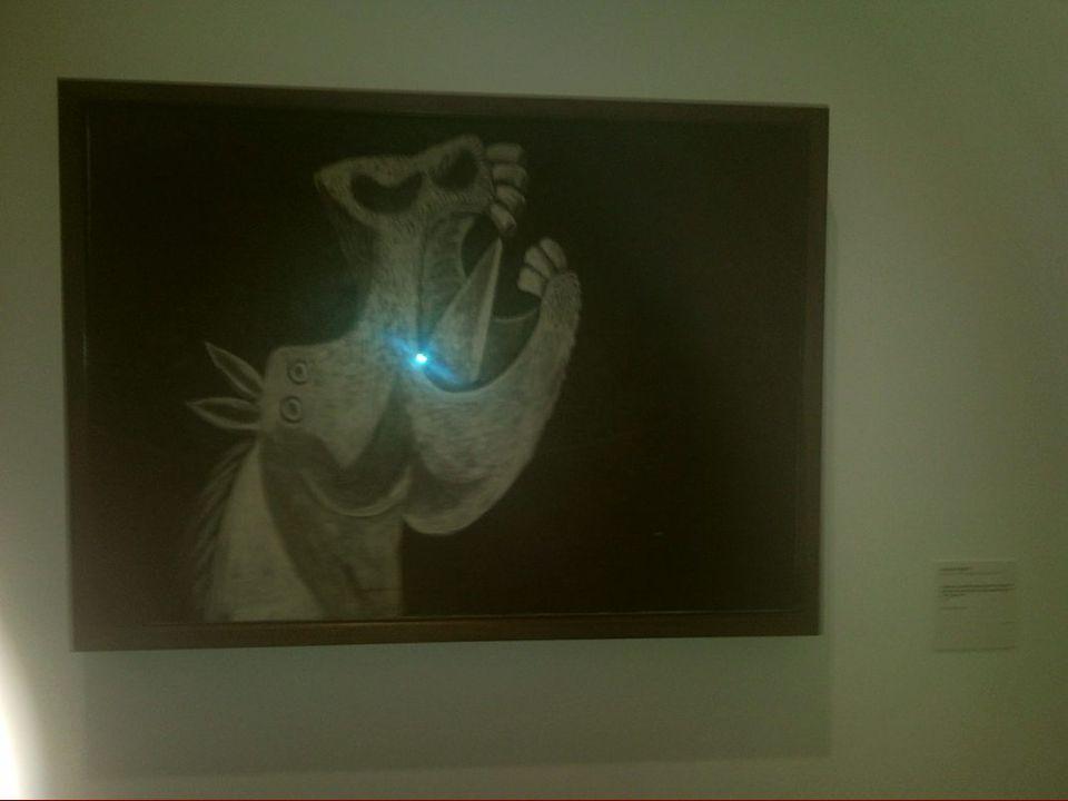 Mujer con espejo Fernando Botero
