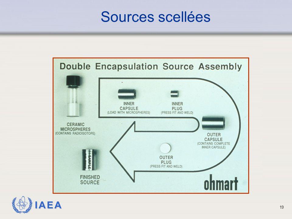 IAEA Sources scellées 19