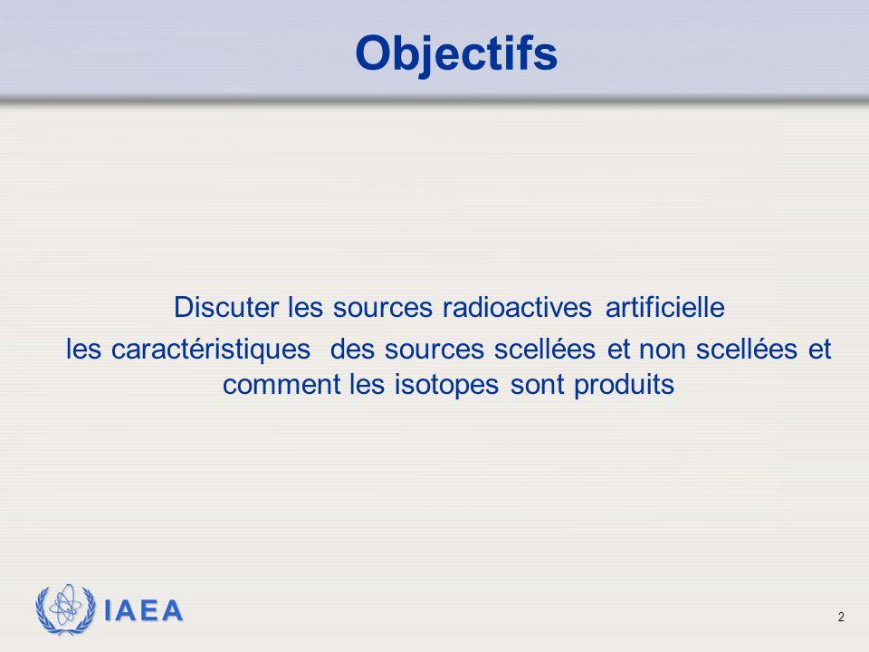 IAEA Echantillon de sources Alpha, Bêta, Gamma 13