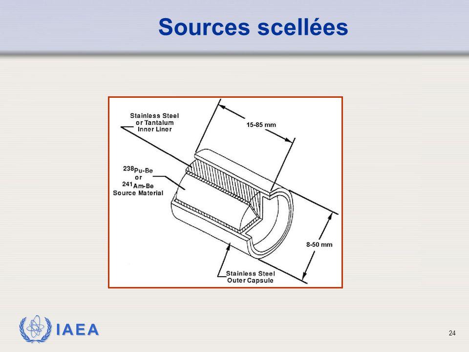 IAEA Sources scellées 24