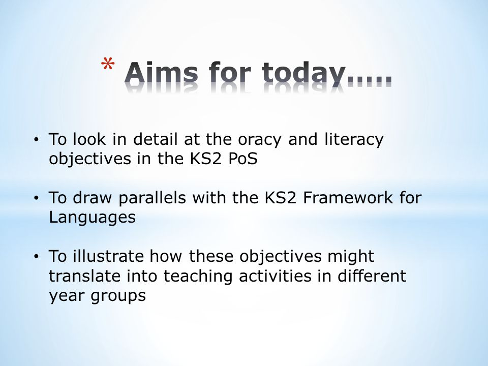 Copyright and acknowledgment KS2 framework for Languages DFES 2005