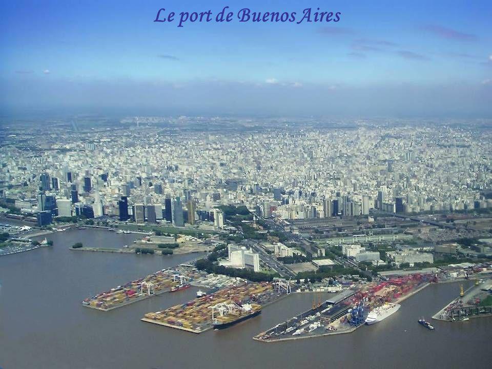 Rio de la Plata vu d'avion