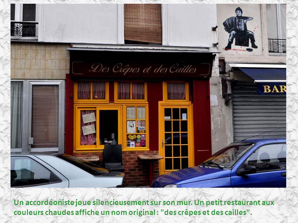 De petites rues, des trottoirs pavés, des gens qui déambulent tranquillement… Où est l épuisante fièvre parisienne ?