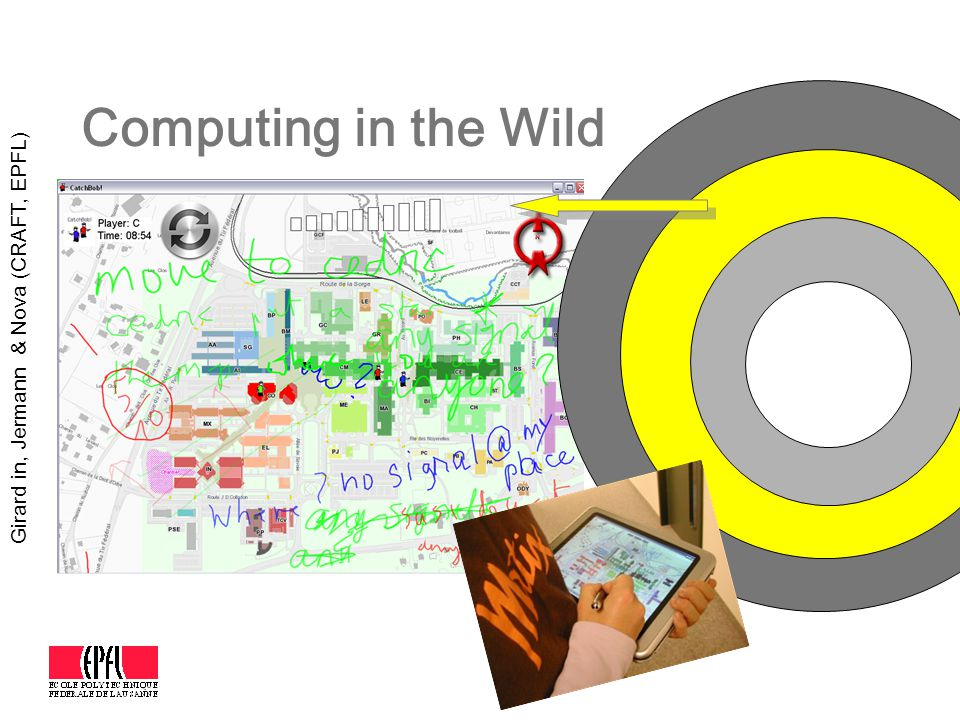 Computing in the Wild Girard in, Jermann & Nova (CRAFT, EPFL)