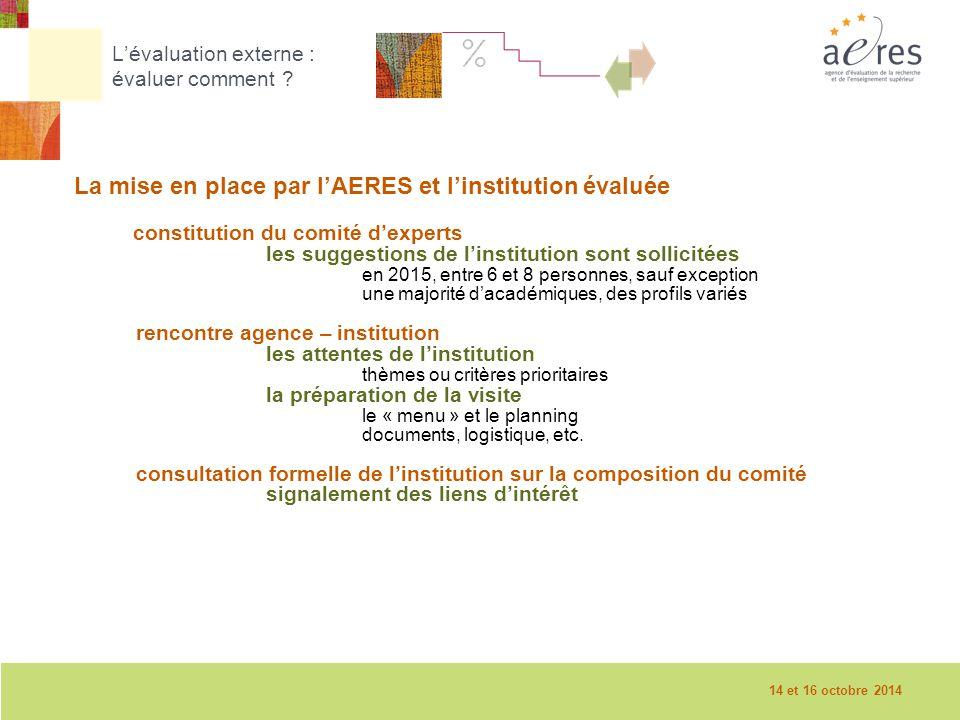 9 La visite sur place – 08/12/2010 L'évaluation externe : évaluer comment .