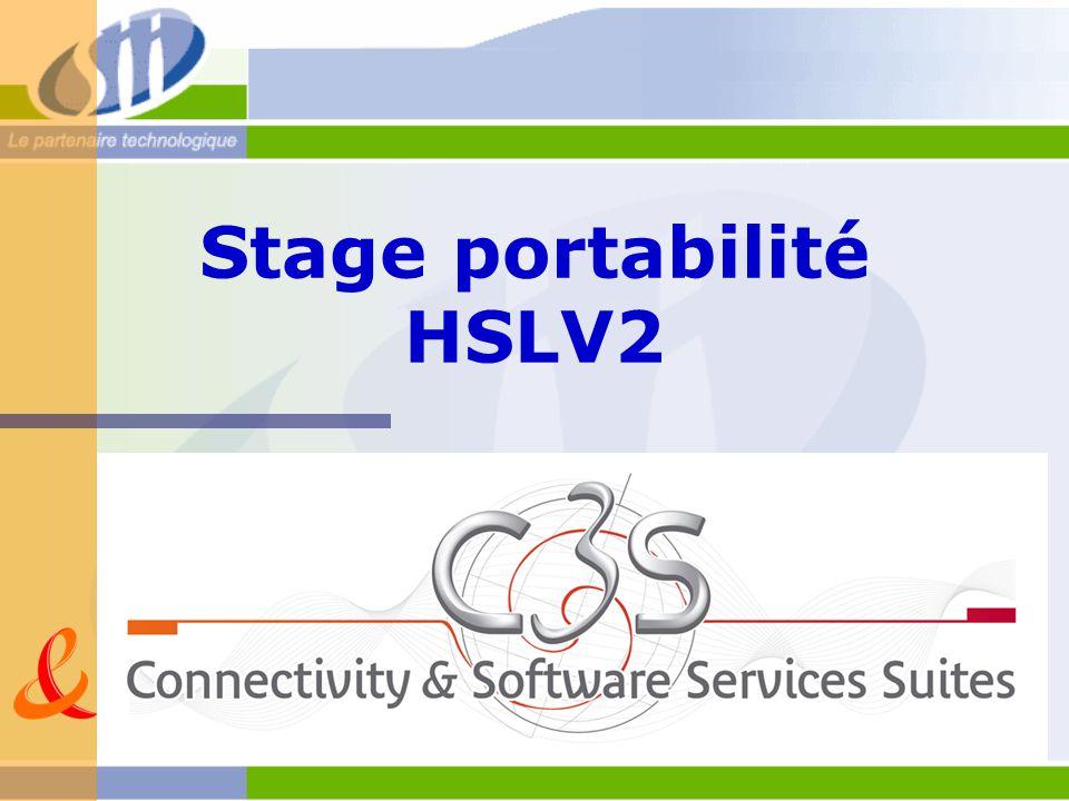 Stage portabilité HSLV2