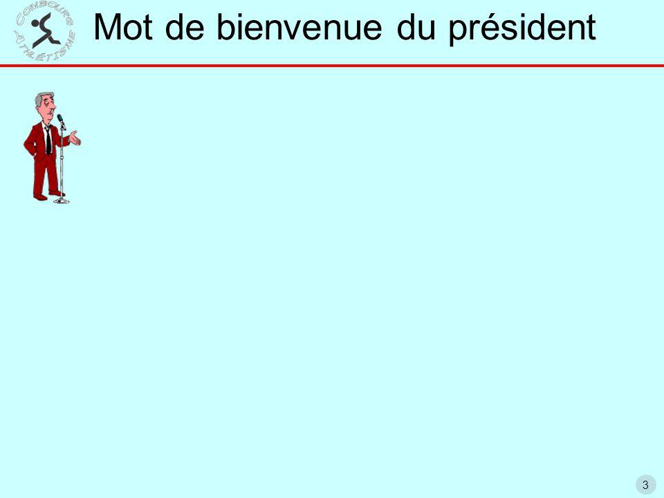 24 Bilan annuel FFA du club Bilan saison 2014 12 ème départementale (12 la saison passée) 769 points FFA (831 la saison passée) 79 athlètes classés (5 Interrégionaux / 27 régionaux….)