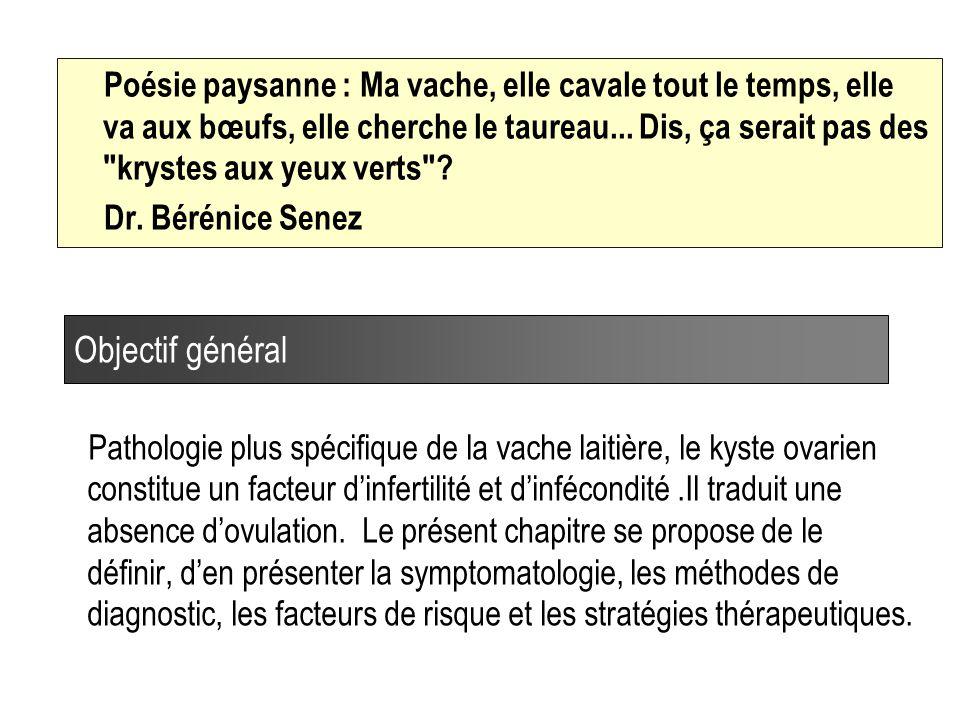 13 Evolution de la fréquence des kystes Lopez-Gatius et al.