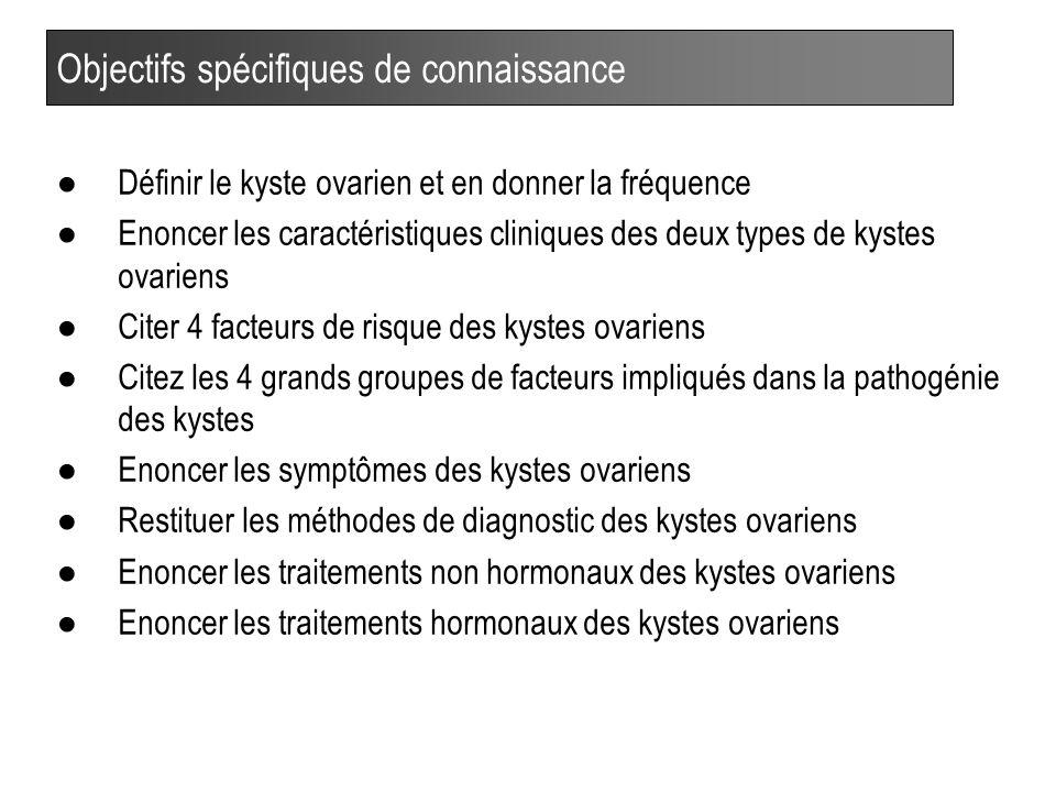 24 Fréquence (%) des kystes en fonction du stade du post-partum (J) (Whitmore et al.