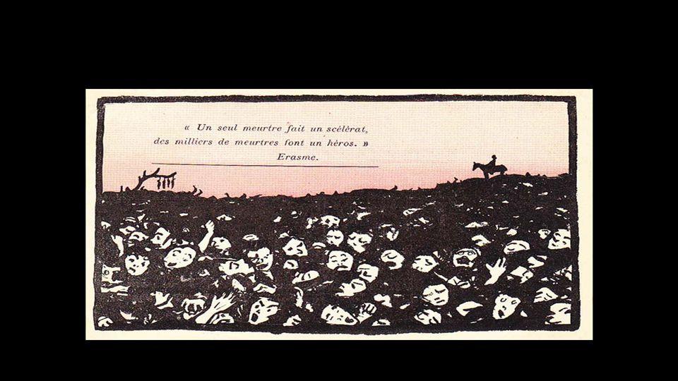 La Guerre de 14-18 vue par Félix Vallotton