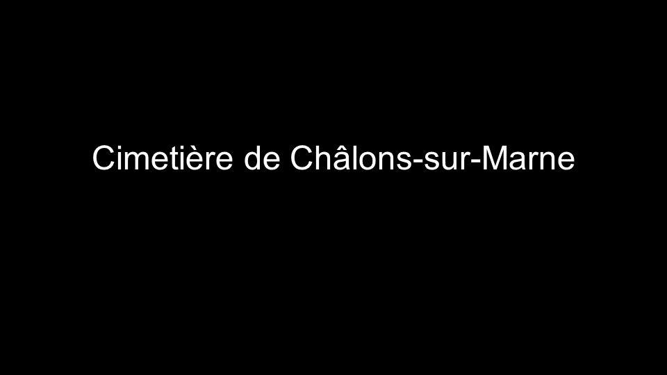 Cimetière de Châlons-sur-Marne