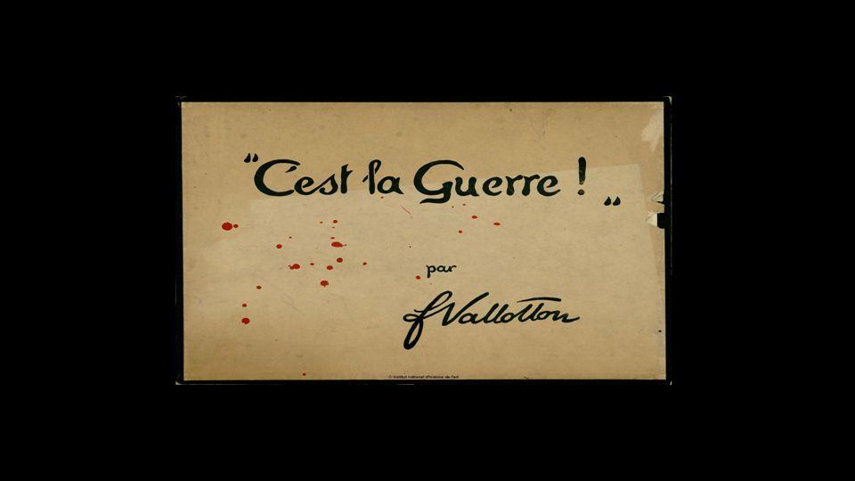 La Guerre de 14 – 18 vue par Félix Vallotton C'est la guerre ! » 1916