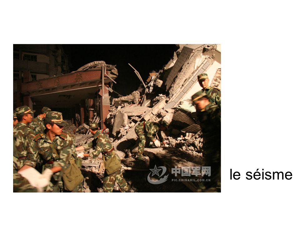le séisme