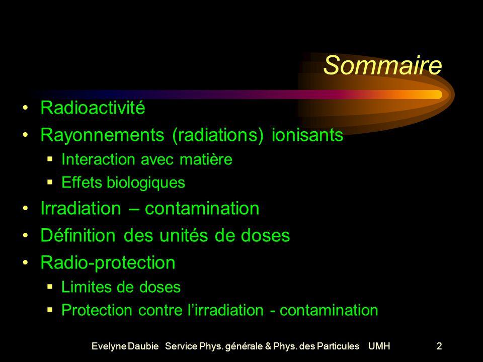 Evelyne Daubie Service Phys.générale & Phys.