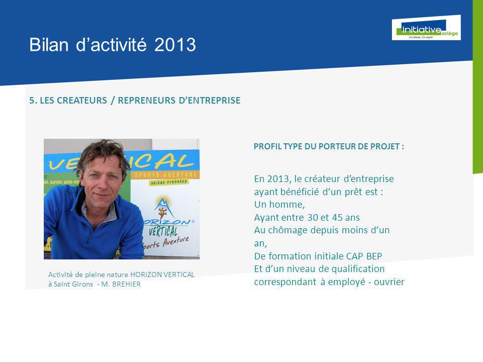 Bilan d'activité 2013 5.