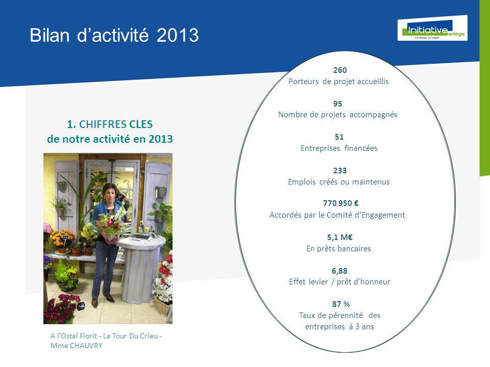 Bilan d'activité 2013 1.