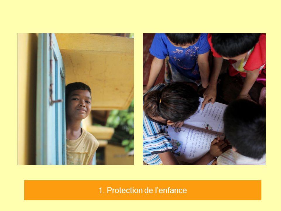 1. Protection de l'enfance