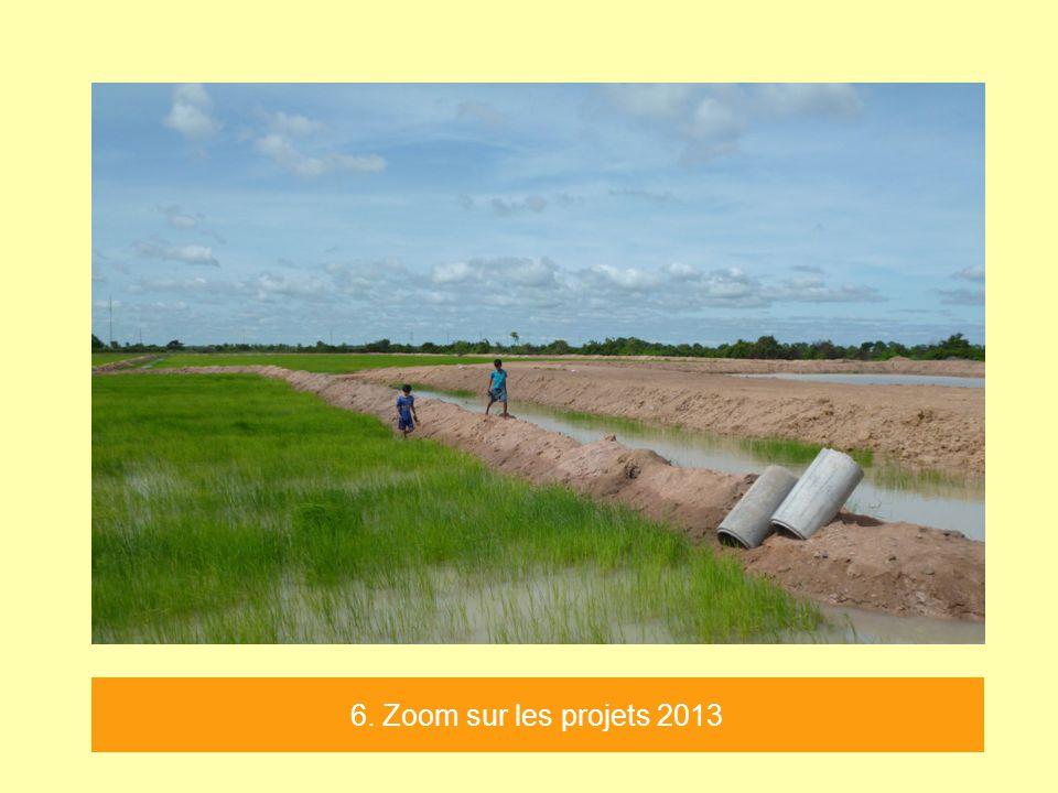 6. Zoom sur les projets 2013