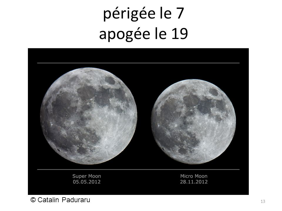périgée le 7 apogée le 19 13 © Catalin Paduraru