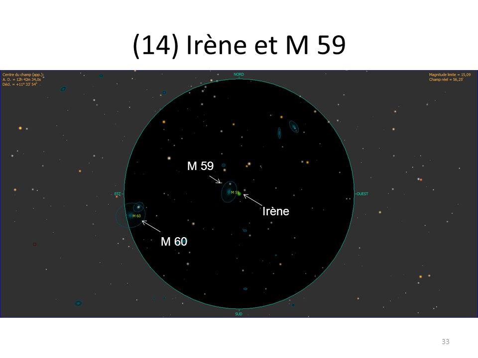 (14) Irène et M 59 33 M 59 M 60 Irène