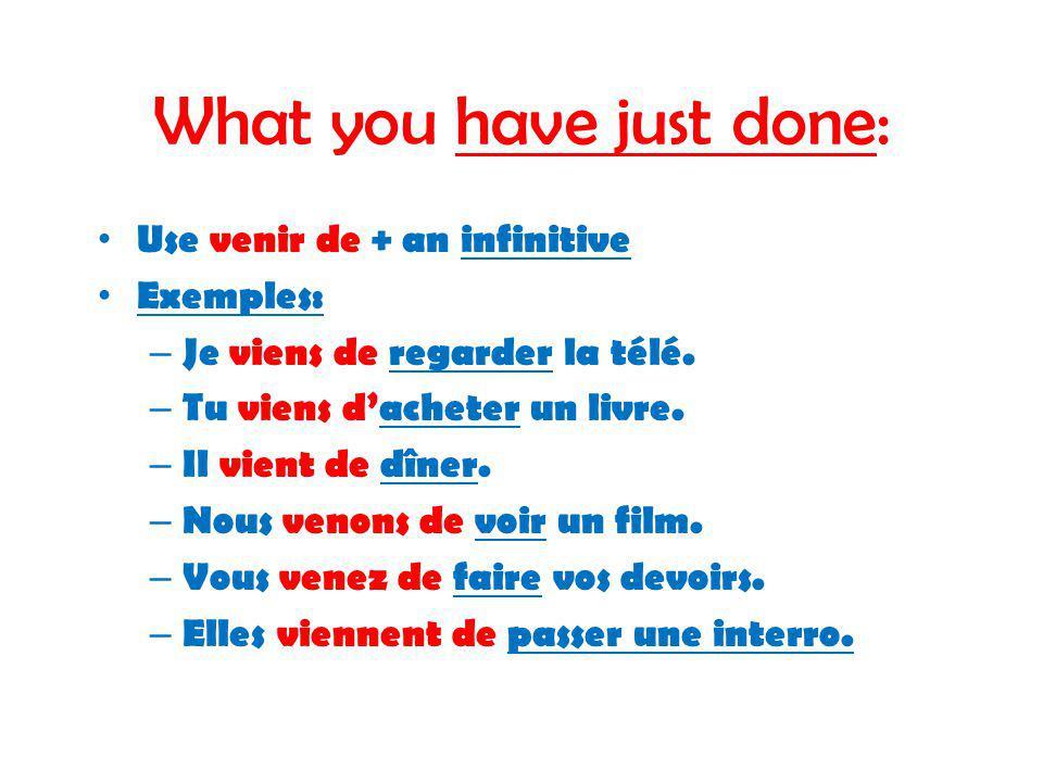 Complétez les phrases au-dessous.1. Je _____ en train de faire mes devoirs.