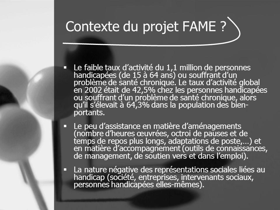 Contexte du projet FAME .