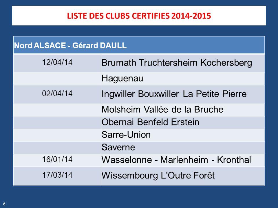 Nord ALSACE - Gérard DAULL 12/04/14 Brumath Truchtersheim Kochersberg Haguenau 02/04/14 Ingwiller Bouxwiller La Petite Pierre Molsheim Vallée de la Br