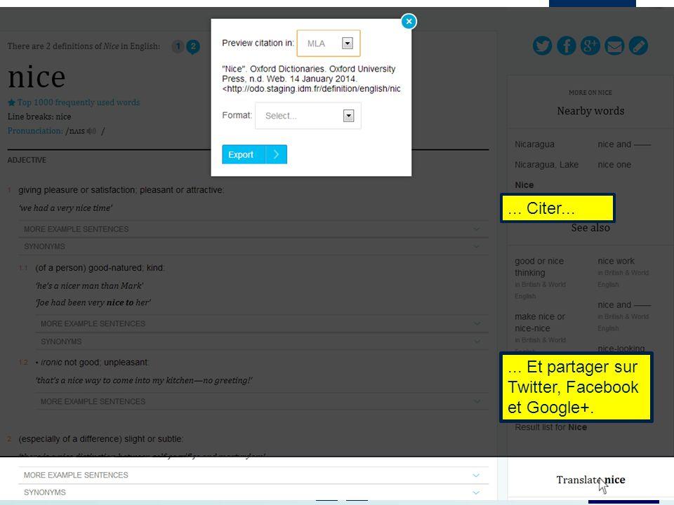 Website: www.oxforddictionaries.com Vous pouvez envoyer un courrier électronique...