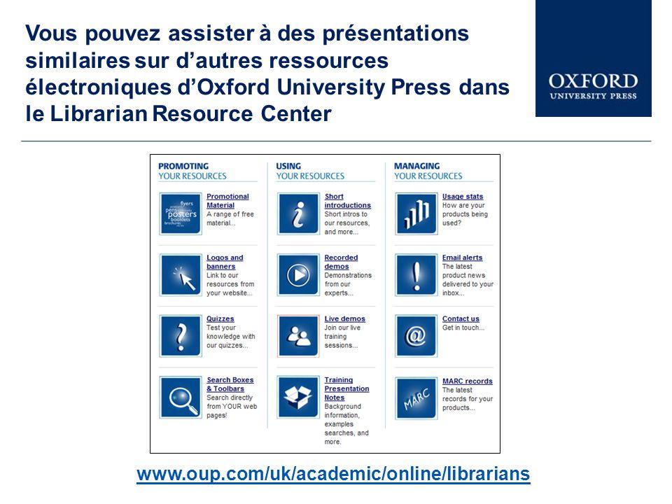 Cette présentation explore une petite partie d Oxford Dictionaries.
