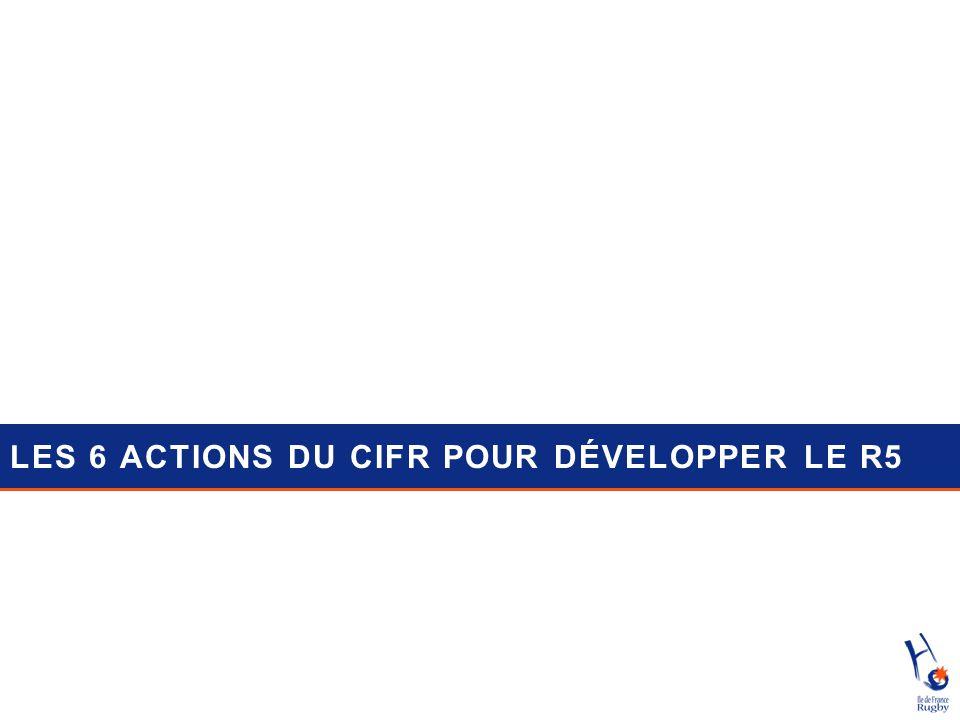 LES 6 ACTIONS DU CIFR POUR DÉVELOPPER LE R5