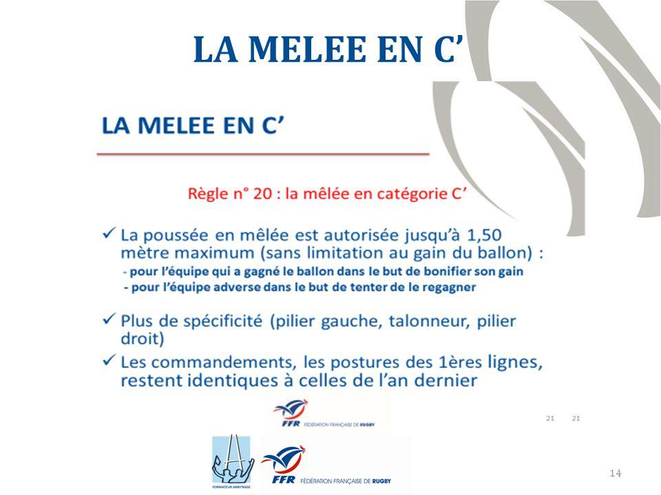 14 LA MELEE EN C'