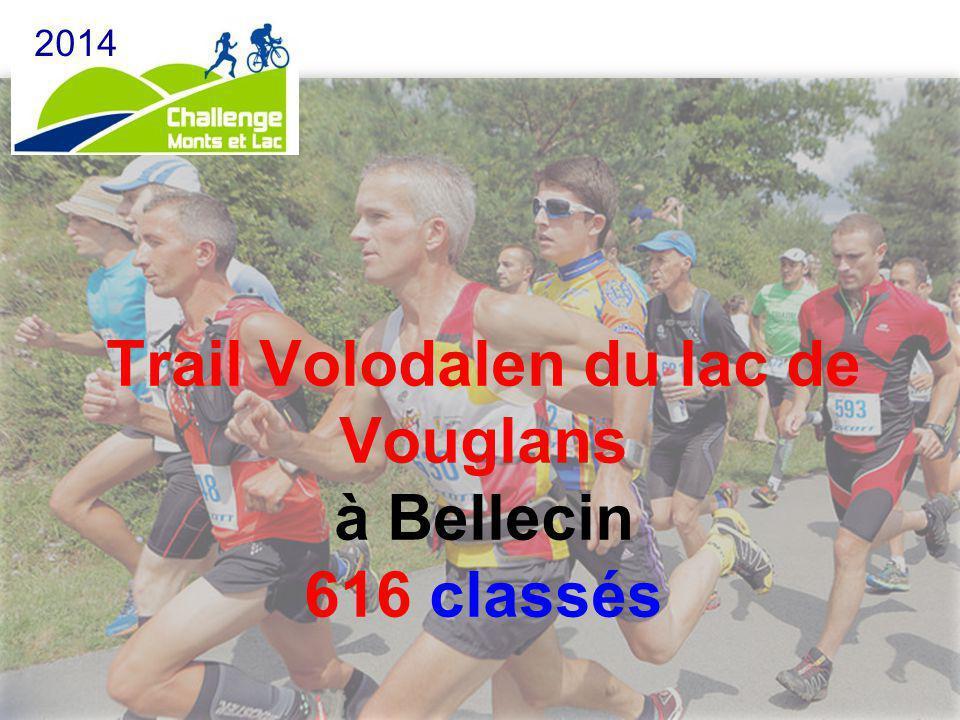 Trail Volodalen du lac de Vouglans à Bellecin 616 classés 2014