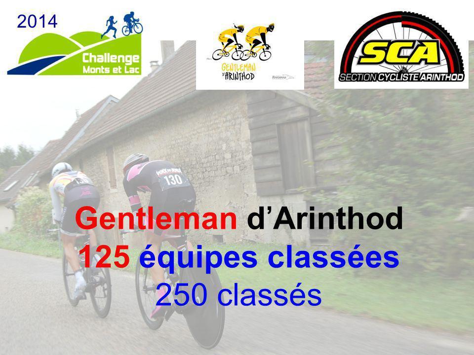 Gentleman d'Arinthod 125 équipes classées 250 classés 2014