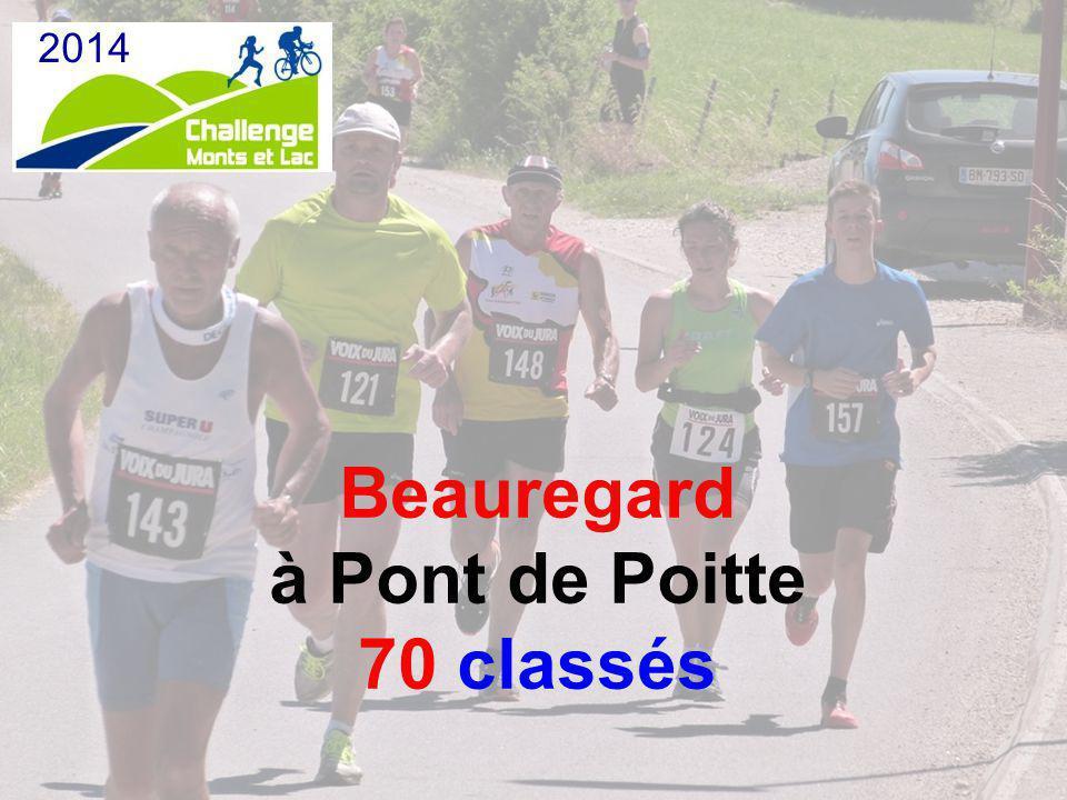 Beauregard à Pont de Poitte 70 classés 2014