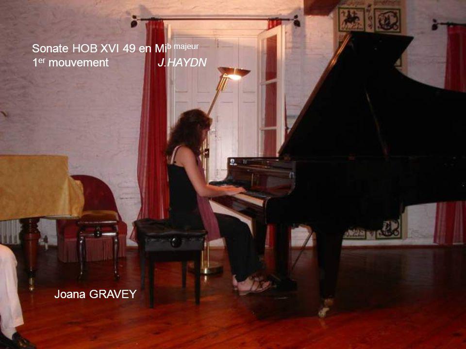 Mehdi KEMSOUSSI Sonate op.31 n°3 en Mi b majeur 1 er et 2 me mouvements L.V. BEETHOVEN