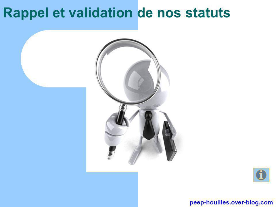 Rappel et validation de nos statuts peep-houilles.over-blog.com