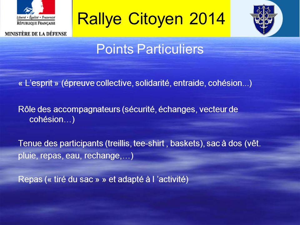 accueil Itinéraire pour rejoindre le point d'accueil Rallye Citoyen 2014