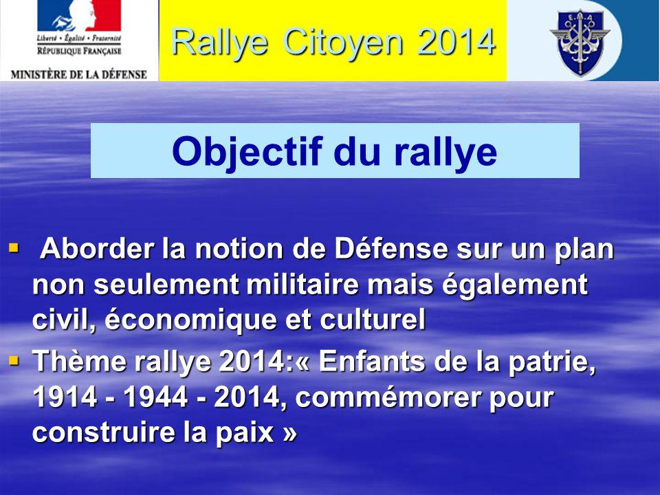 « Rallyes Citoyens » des établissements secondaires de la Gironde Camp de Souge Martignas sur Jalle 09 (lycéens) et 10 (collégiens) avril 2014 Rallye Citoyen 2014