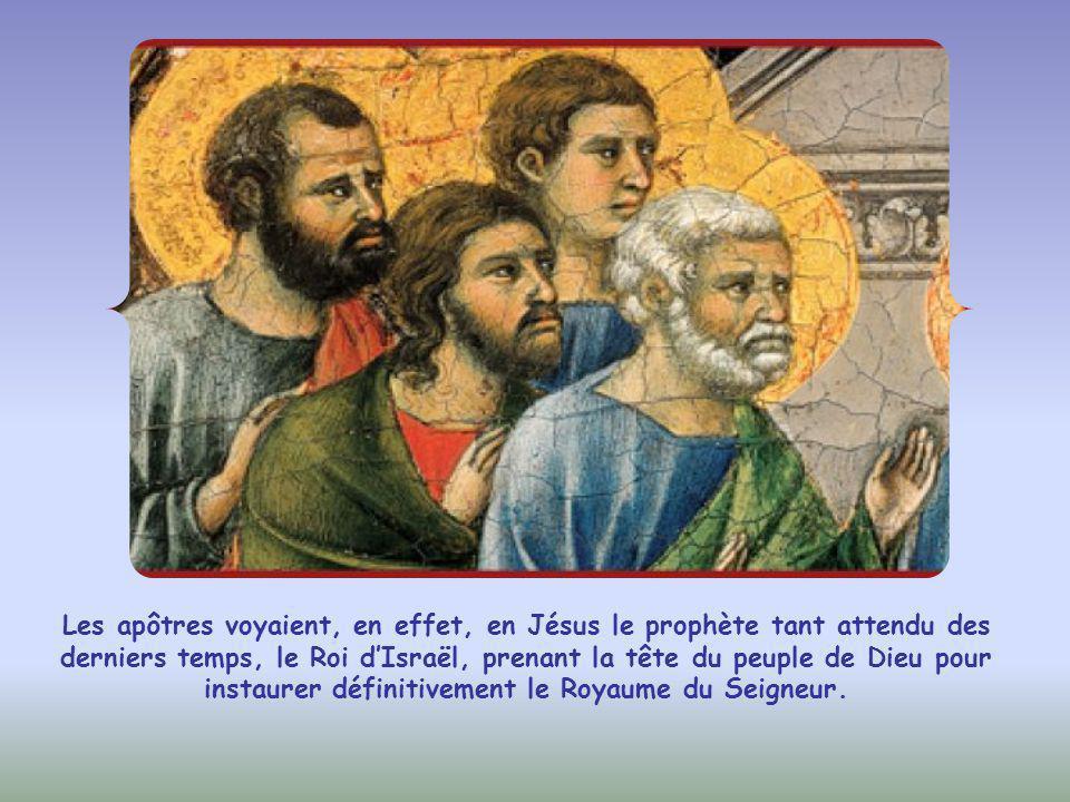 Jude (et non Judas Iscariote) lui demande alors pourquoi il pense se révéler à eux et pas en public.