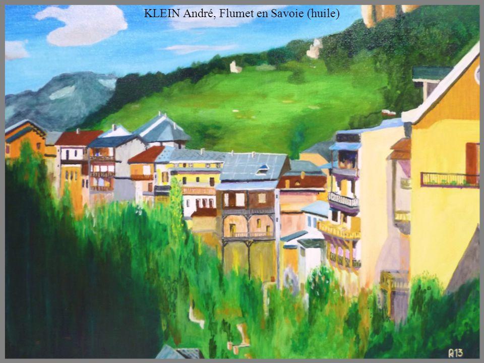 KLEIN Renée, le moulin (huile)
