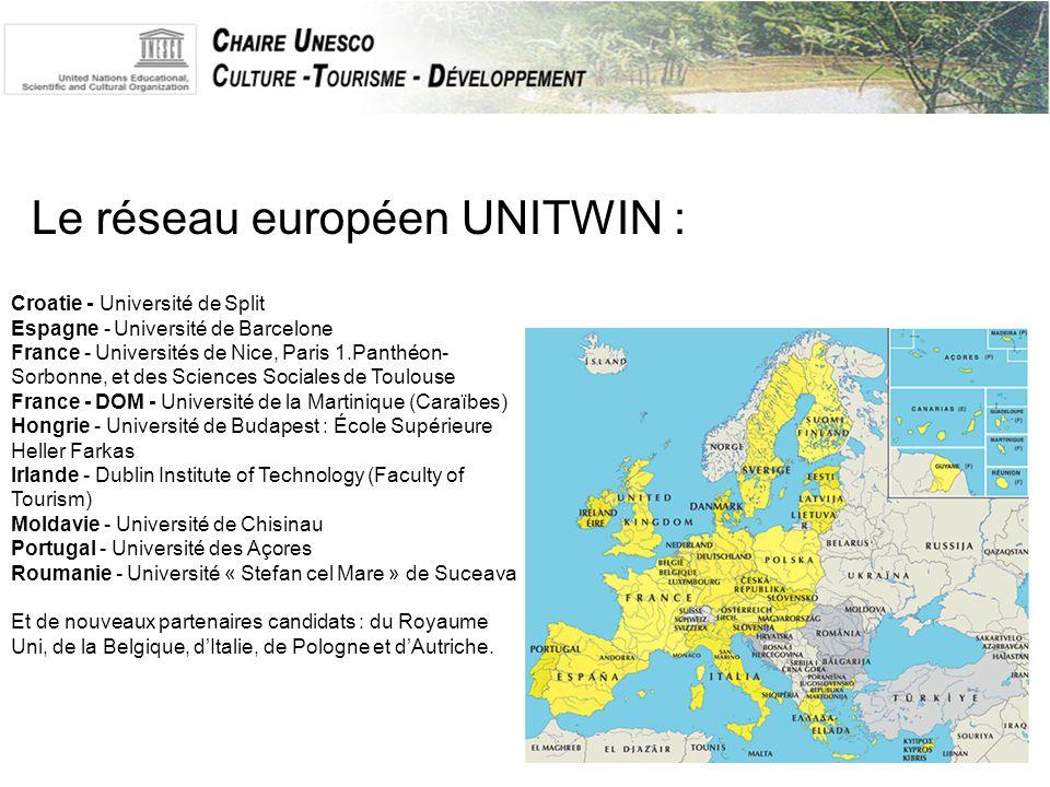 Exemples d'actions :  Croatie : Mise en place de nouveaux cursus de formation, développement socioéconomique et culturel de zones touristiques, échanges universitaires, recherche appliquées.