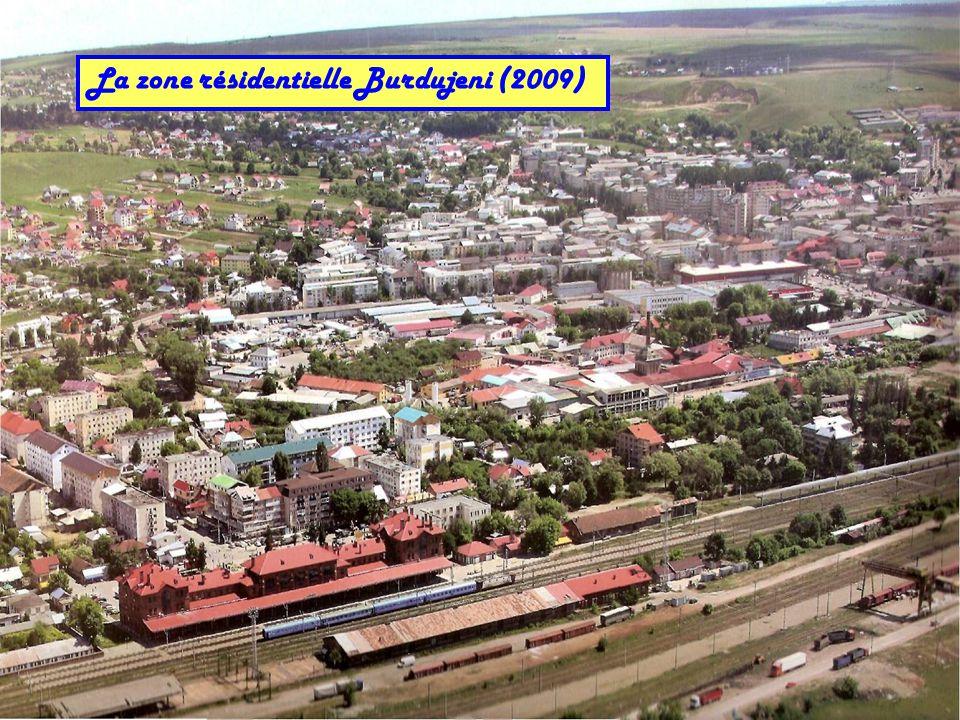 La zone résidentielle Burdujeni (2009)