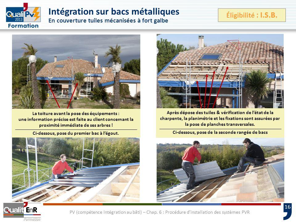 16 PV (compétence intégration au bâti) – Chap.
