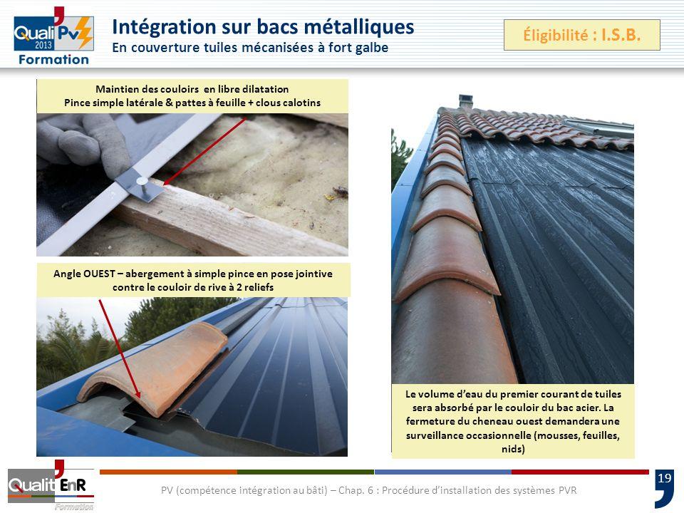 19 PV (compétence intégration au bâti) – Chap.