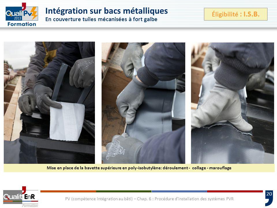 20 PV (compétence intégration au bâti) – Chap.