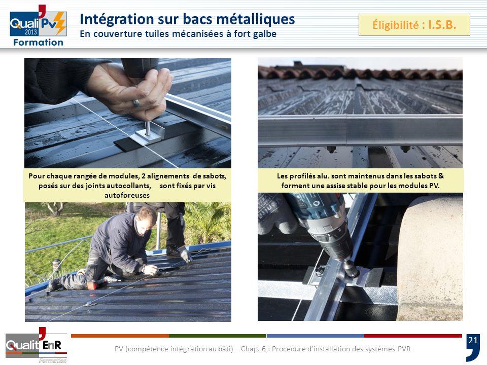 21 PV (compétence intégration au bâti) – Chap.