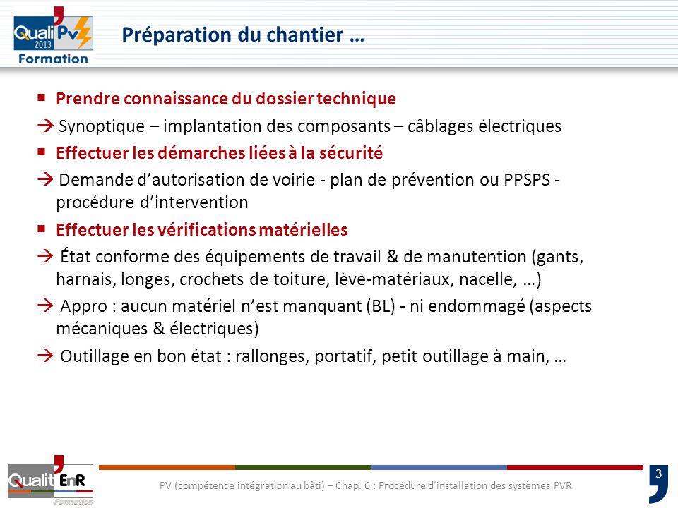 4 Études de cas : 3 systèmes différents PV (compétence intégration au bâti) – Chap.